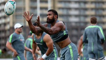 Michael Cheika is not convinced Marika Koroibete will be targeted by high balls against Wales.