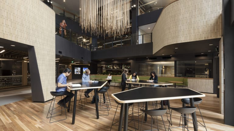 Cox Architecture's makover of the Sir Louis Matheson Library at Monash University.