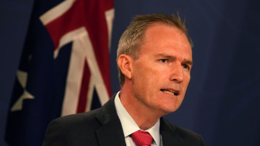 Immigration Minister David Coleman.