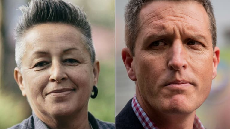 Animal Justice Party candidate Katrina Love stood in the Fremantle byelection against Labor's Josh Wilson even though she was a dual citizen.