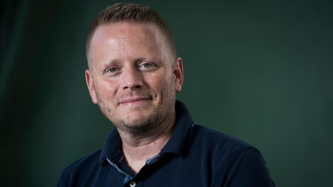 Best selling YA author Patrick Ness writes around teen fears.