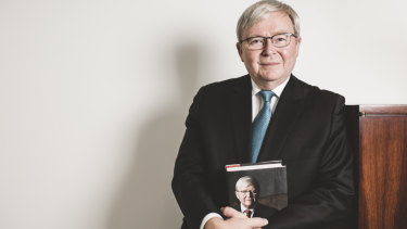 """Kevin Rudd: """"Whether this account unsettles other narratives ... is yet to be seen."""""""