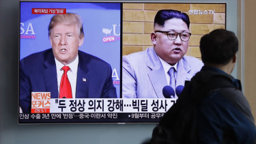 Donald Trump and Kim Jong-un are due to meet in Singapore on June 12.