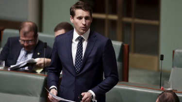 """Our defamation laws are at risk of being weaponised in the service of authoritarian states"": Liberal MP Andrew Hastie."