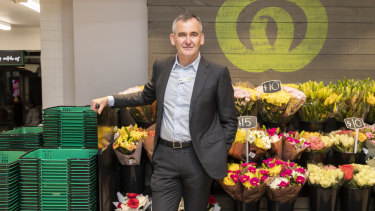 Woolworths chief executive Brad Banducci.