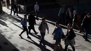 Australian wealth levels are falling.