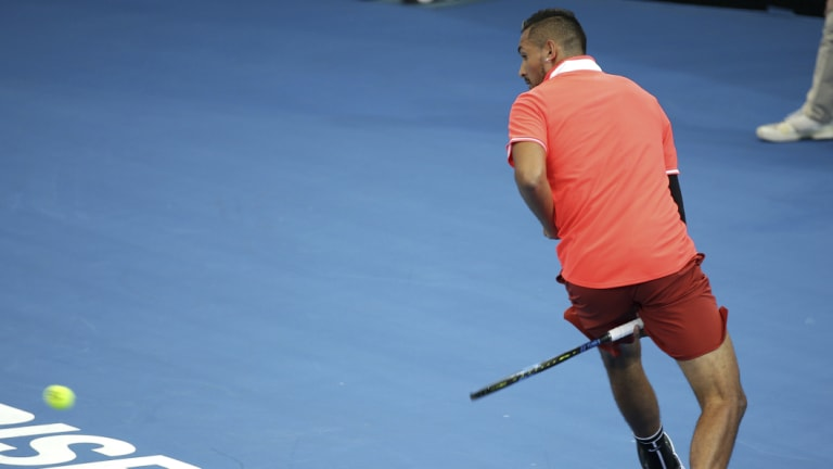 Let me entertain you: Nick Kyrgios is tennis's answer to the Big Bash.