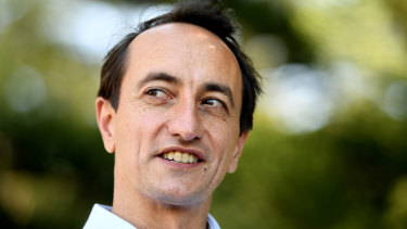 Dave Sharma, Liberal candidate for Wentworth, is treading carefully on the Opera House issue.