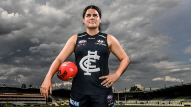 Prespakis isn't interested in talk of which number she was picked in the 2018 draft.