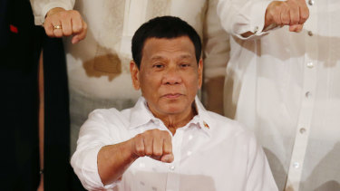 Officials say Duterte told his Cabinet he doesn't have cancer, and that he won't be releasing a public report on his health.