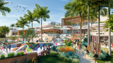 QIC GRE and LCRE's proposed South Bay Galleria project in California.
