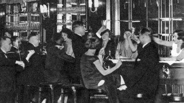 Inside the Berlin bar Moka Efti in the 1930s, an era evoked by Philip Kerr in his final novel, Metropolis.