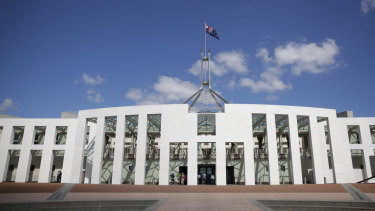 Parliament House is being upgraded to prevent security breaches.
