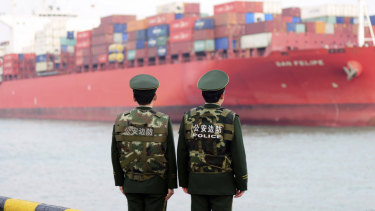 Chinese exports to the US are about four times higher than China's imports from the US.