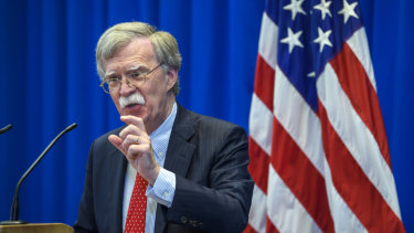 US national security adviser John Bolton has long opposed the ICC, seeing it as an attack on national sovereignty.