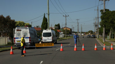 Police are urging anyone who was in the area about 2.30am on Monday to contact Crime Stoppers.