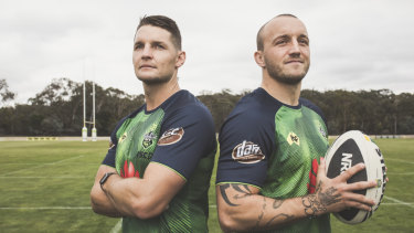 Canberra Raiders co-captains Jarrod Croker and Josh Hodgson said the whole group have taken their leadership to another level.