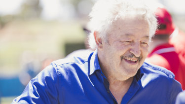 Veteran Queanbeyan trainer Mike Petrovic.