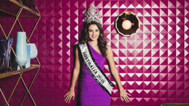 Canberra's Emily Tokic is Miss International Australia 2018.
