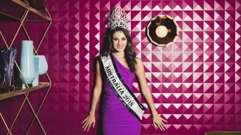 Canberra's Emily Tokic is Miss International Australia 2018.