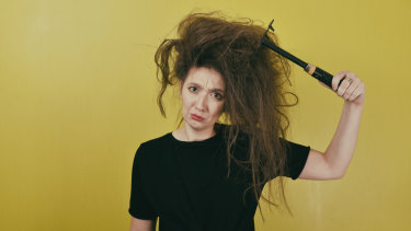 Why do sweaty temperatures play such havoc with our hair?