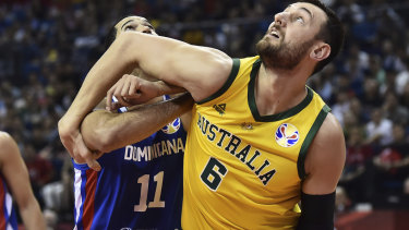 Andrew Bogut was more concerned with the Boomers' clock management against Dominican Republic than crowd booing.