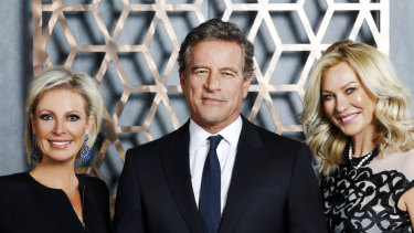 Celebrity Apprentice star Mark Bouris, centre, is YBR's second-largest shareholder with an 18.4 per cent stake.