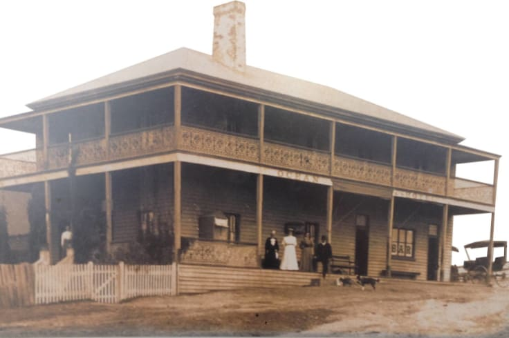 The hotel was established on its current site in 1888.