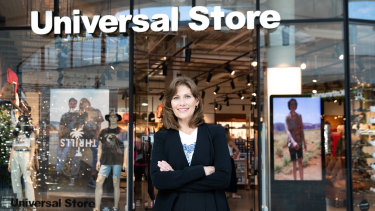 Universal Store CEO Alice Barbery says the company is still pursuing a bricks and mortar expansion plan.