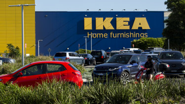 IKEA's profits have stayed depressed despite the company's sales booming.