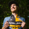 Canberra cyclist Ben Hill looks for change in fortune after back break