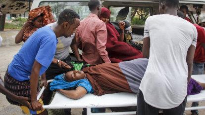 Gunmen storm beachside hotel in Somali capital