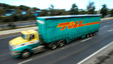Toll Group said it was making good progress in rebuilding the core systems underpinning its online operations after a cyber attack, but it is slow going.