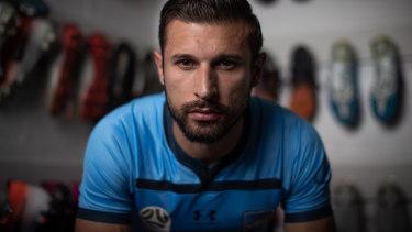 Sydney FC striker Kosta Barbarouses.