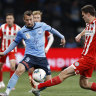 Sydney FC striker Adam Le Fondre closing in on City Football Group move