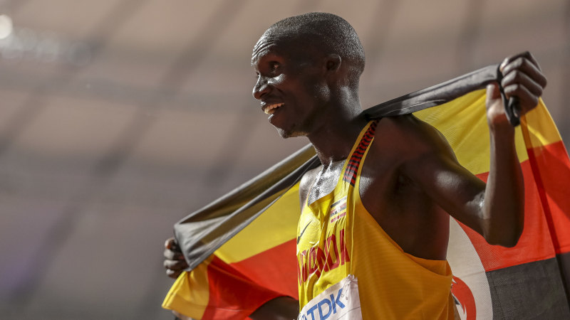 Uganda's Joshua Cheptegei smashes 5km world record