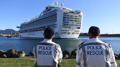 Border Force allowed Ruby Princess to dock