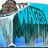 Wage freeze is thawing but the pace is glacial