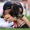 Roosters in Origin slump after dropping three straight
