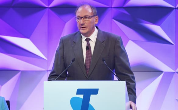 'Lowest CEO salary': Mullen defends Telstra pay as investors strike