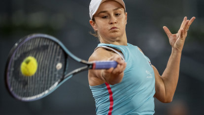 Barty and Swiatek set up first-time clash on Madrid clay