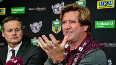 Bunker mentality: Des Hasler's aversion to the media is well known.
