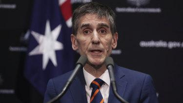 Australian Medical Association president Tony Bartone.
