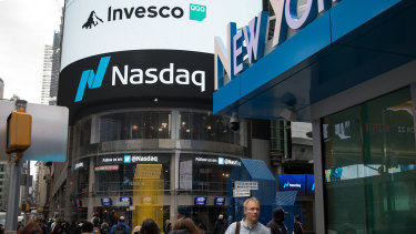 The Nasdaq continues to set new records, but the S&P 500 and Dow both retreated.