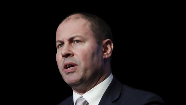 "Treasurer Josh Frydenberg said the government's ""strong fiscal management has put the budget on a sustainable trajectory""."