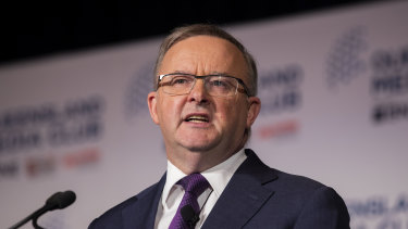 Labor leader Anthony Albanese has called for a cap on political donations.