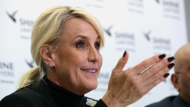 High profile American legal campaigner Erin Brockovich is throwing her weight behind the push for more to be done about silicosis.