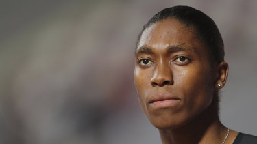 Caster Semenya says she will continue to fight for the human rights of female athletes.