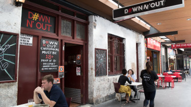 Down N' Out restaurant in George Street, Sydney is at the centre of a Federal Court dispute with the US burger chain In-N-Out.