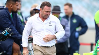 Raiders coach Ricky Stuart would rather his side be fresh in fifth than fourth and tired.